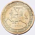 Монеты евро Литвы (Литва)