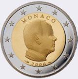 Монеты евро Монако