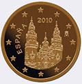 Монеты евро Испании (Испания)