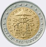 Монеты евро Ватикана (Ватикан)