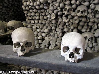 Костница в Седлеце - костел Всех Святых (Кутна гора, Чехия)