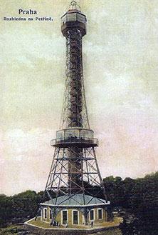 Популярные достопримечательности Праги - Петршин холм