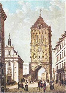 Популярные достопримечательности Праги - Пороховая башня