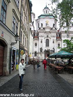 храм святого Николая в Старе Место (Прага, Чехия)