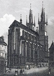 Тынский храм или Храм Девы Марии перед Тыном (Прага, Чехия)
