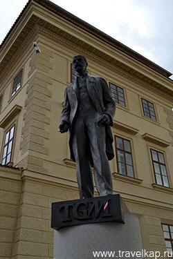памятник Томаша Гаррига Масарика (Прага, Чехия)