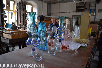 Гарраховский стекольный завод и музей стекла (Гаррахов, Чехия)