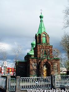 православный Храм Богоявления Господня (Йыхви, Эстония)