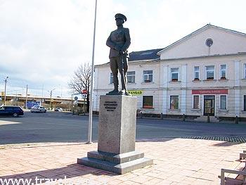 памятник генералу Александеру Тыниссону (Йыхви, Эстония)