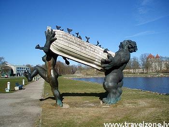 достопримечательности и история города Курессааре (Сааремаа, Эстония)