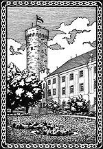 башня Длинный Герман (Таллин, Эстония)