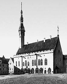 Таллиннская Ратуша (Таллин, Эстония)