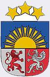 герб, флаг, и гимн Латвии