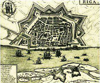 краткая история Риги до 17 века (Латвия)