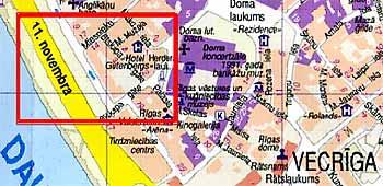 средневековые замки Риги (Латвия)