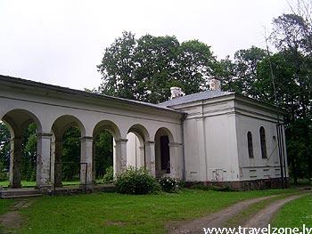 имение графов Тышкевичей (Биржай, Литва)