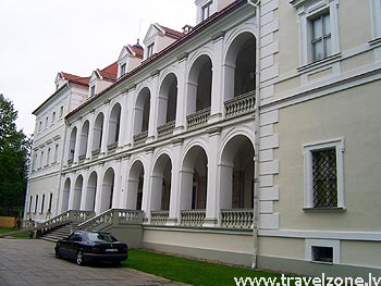 Биржайский замок - дворец (Биржай, Литва)