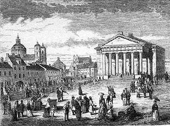 история города Вильнюс (Литва)