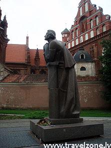 памятник Адама Мицкевича (Вильнюс, Литва)