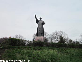 памятник Иоанна Павла 2 (Ченстохова, Польша)