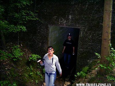 ставка войск Вермахта Мауервальд (Мамерки, Польша)