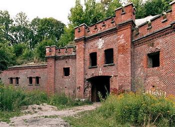 Фортовый пояс Ночная перина Кенигсберга (Форты Калиниграда, Россия)