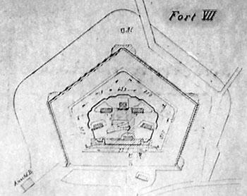 форт 7 Герцог фон Хольштайн (Кенигсберг, Калининград)