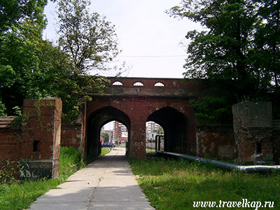 Железнодорожные ворота Кенигсберга (Калининград, Россия)