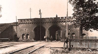 городские ворота Кенигсберга (Калининград, Россия)