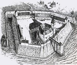 замок Бальга (Burg Balga) Россия