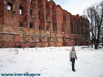 замок Рагнит (Ragnit) Неман, Калининградская область, Россия