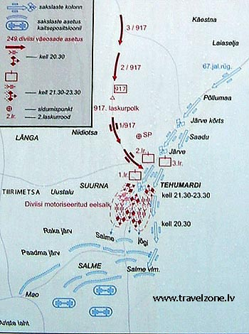 бой у деревни Техумарди (Сааремаа, Эстония)
