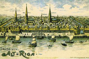 Краткая история Риги до 17 века