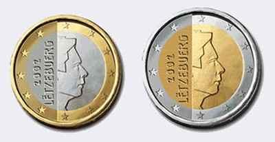 Монеты евро Люксембурга