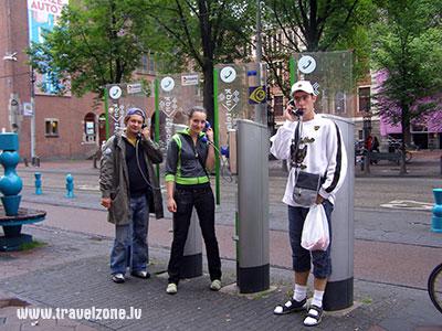 Телефонная будка - таксофоны городов мира