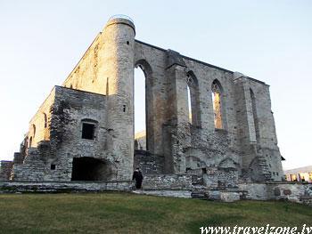 Развалины монастыря Девы Марии Ордена Святой Биргитты