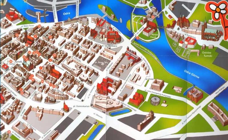 Город Вроцлав и его главные достопримечательности с описанием и фото
